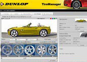 Dunlop Tiremanager starten